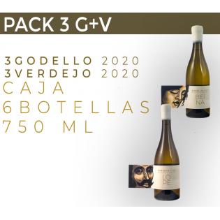 PACK 6 BOTELLAS. 3 G+V