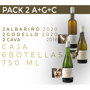 PACK 6 BOTELLAS. 2 A+G+C
